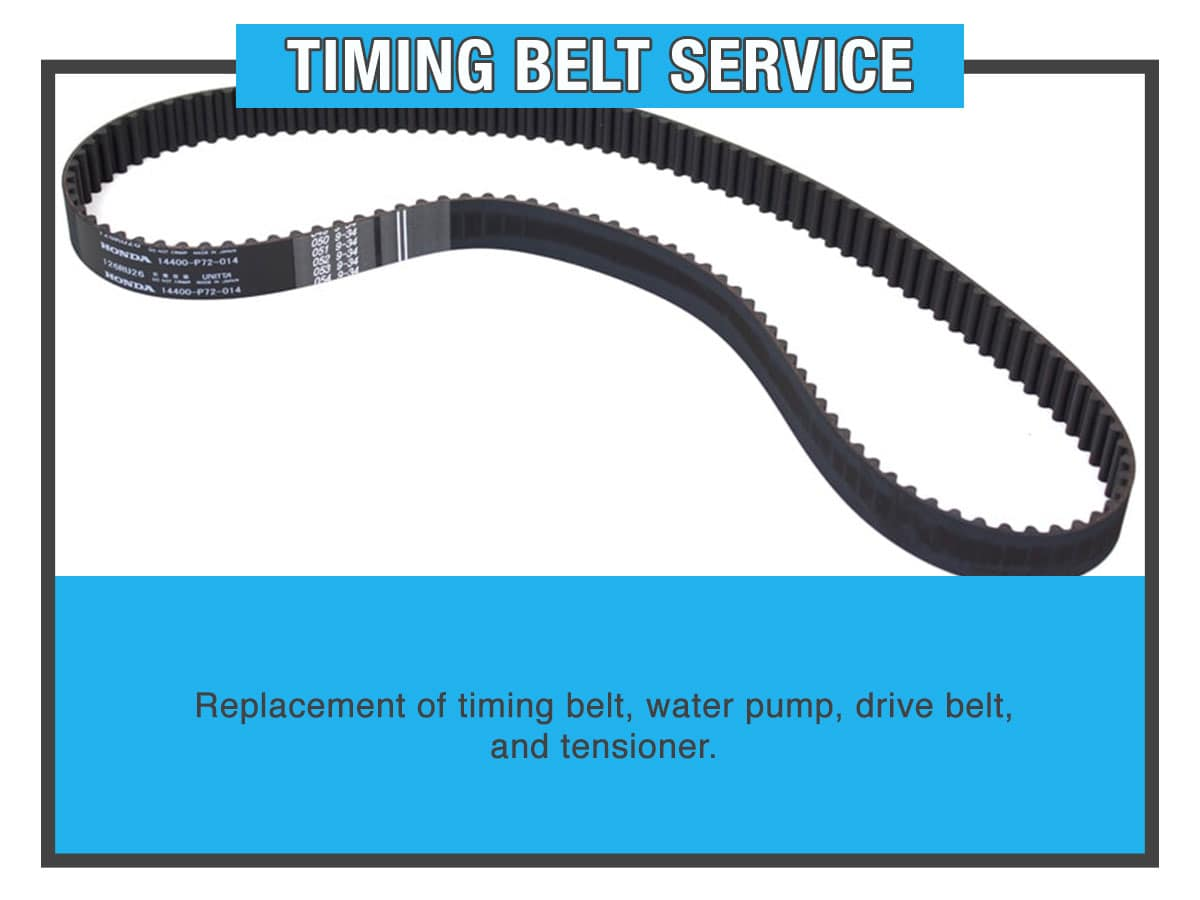 Honda Timing Belt Bundle Service Special Coupon