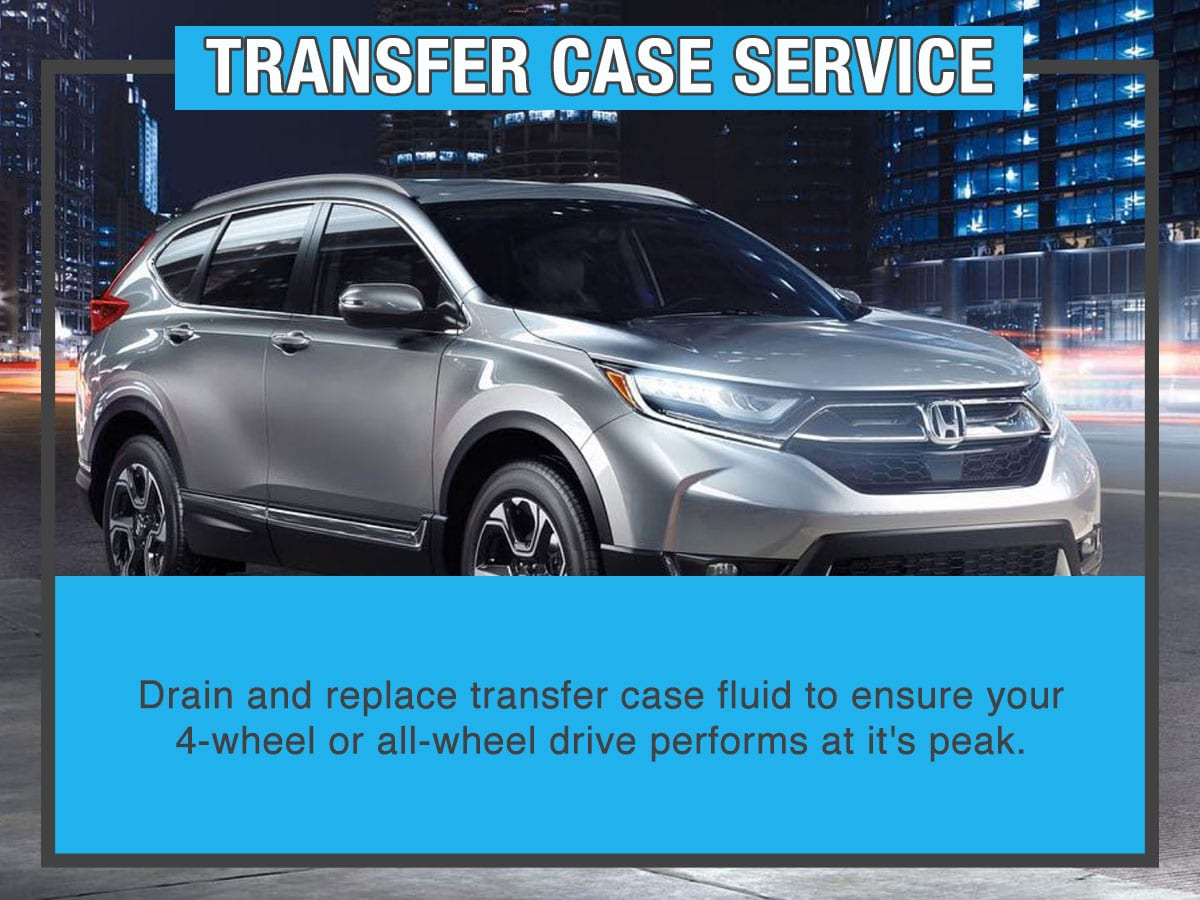 Honda Transfer Case Service Special Coupon