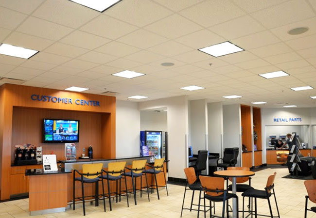 McGrath Honda Waiting Area