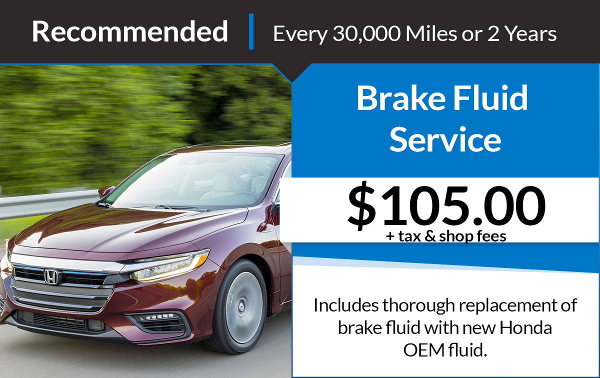 Brake Fluid Service Special Coupon