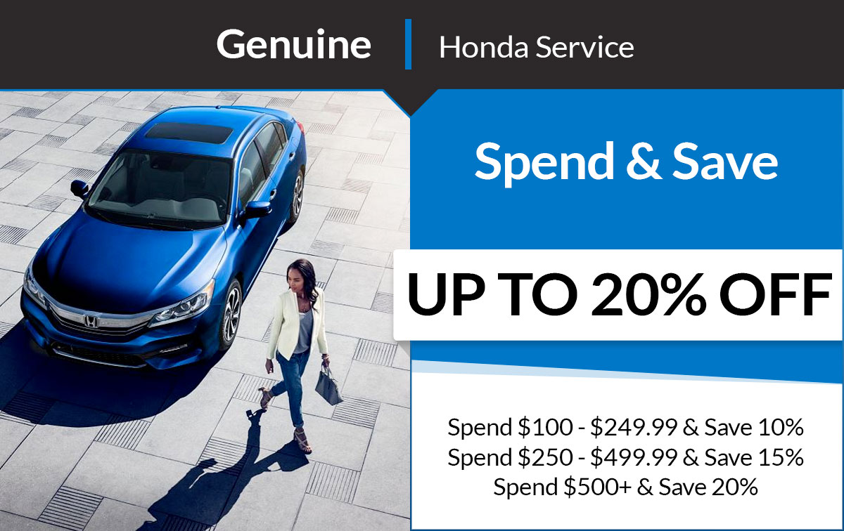 Honda Spend & Save Service Special Coupon