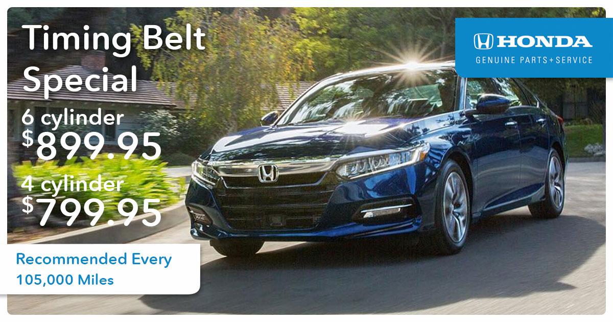 Honda Timing Belt Service Special Coupon