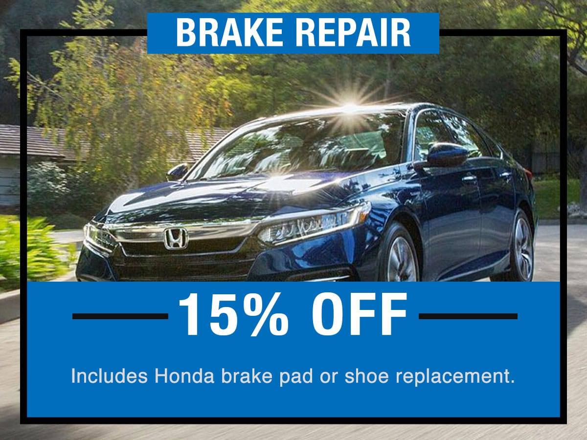 Brake Pad Replacement Service Special Coupon