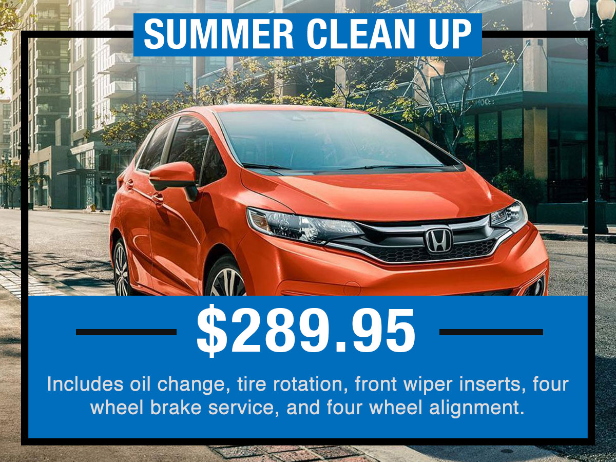Honda Spring Clean Up Service Special Coupon