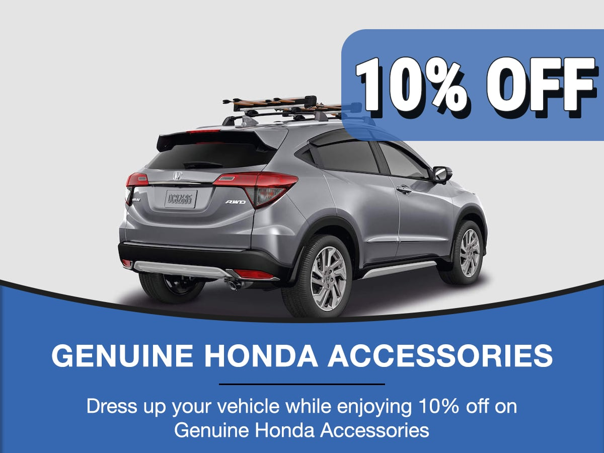 Rapids Honda Accessories Special Coupon