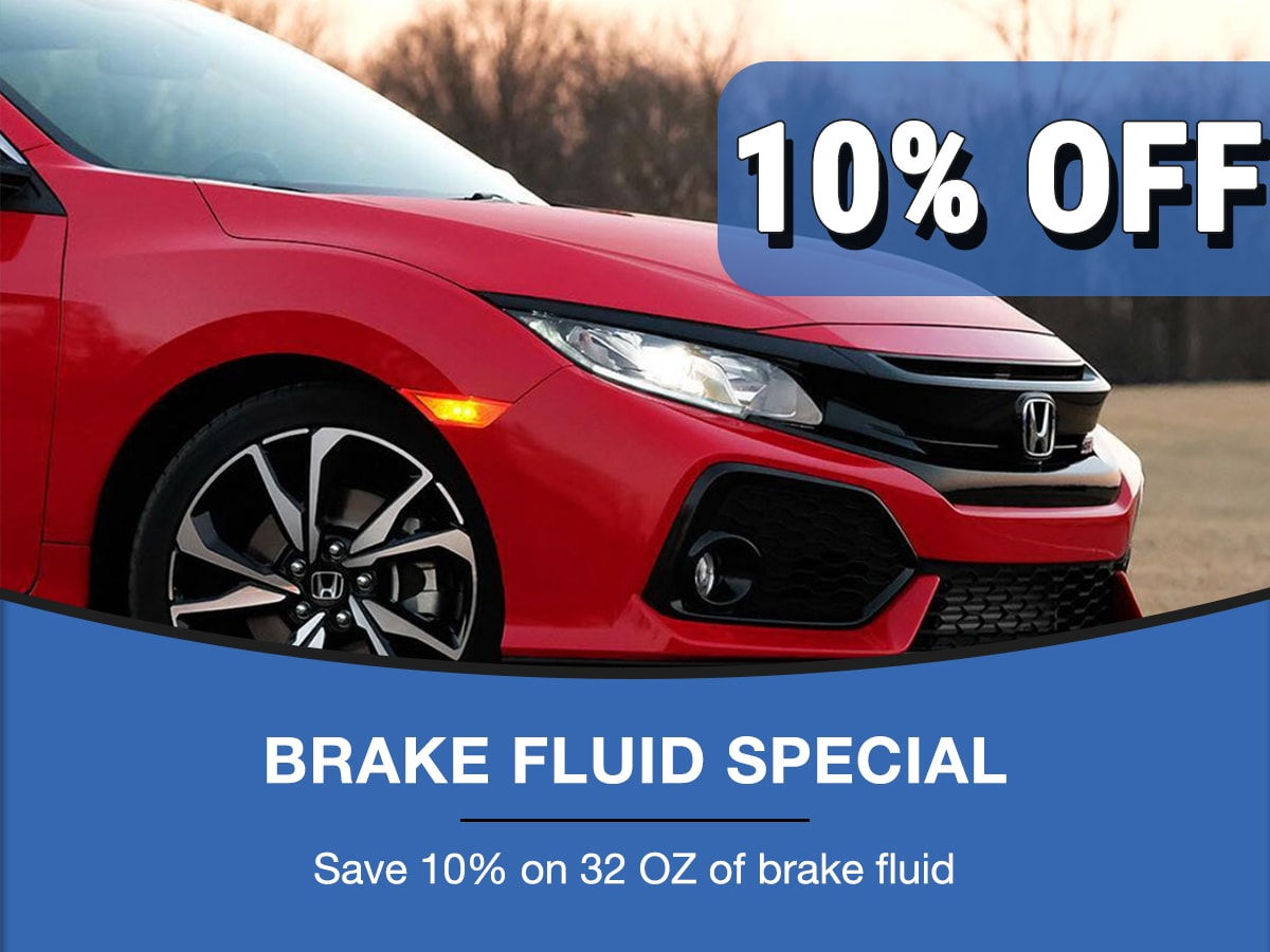 Rapids Honda Brake Fluid Special Coupon