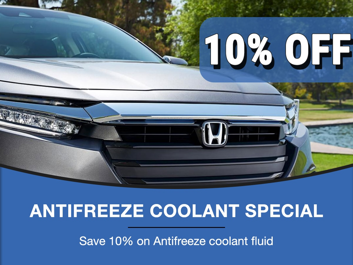Rapids Honda Antifreeze Coolant Special Coupon