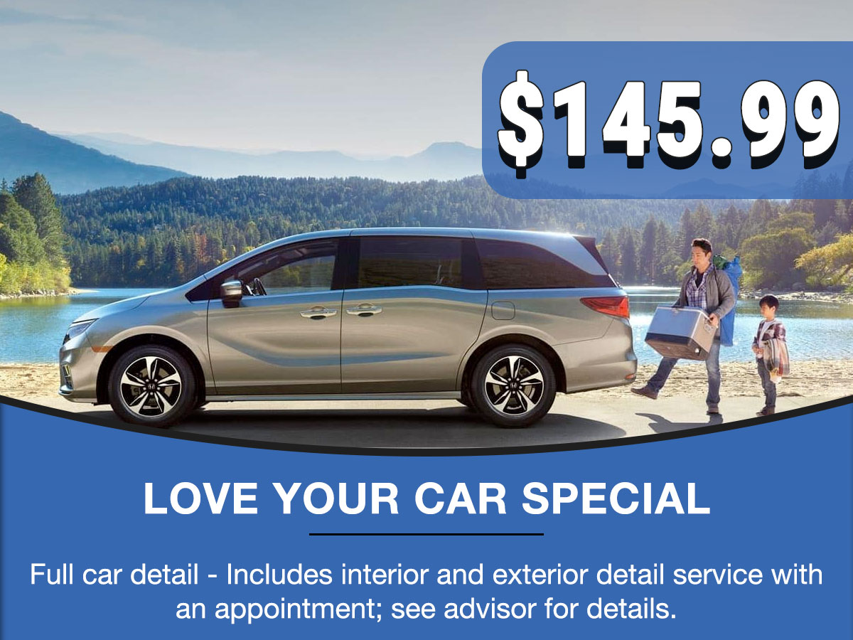 Honda Love Your Car Service Special Coupon
