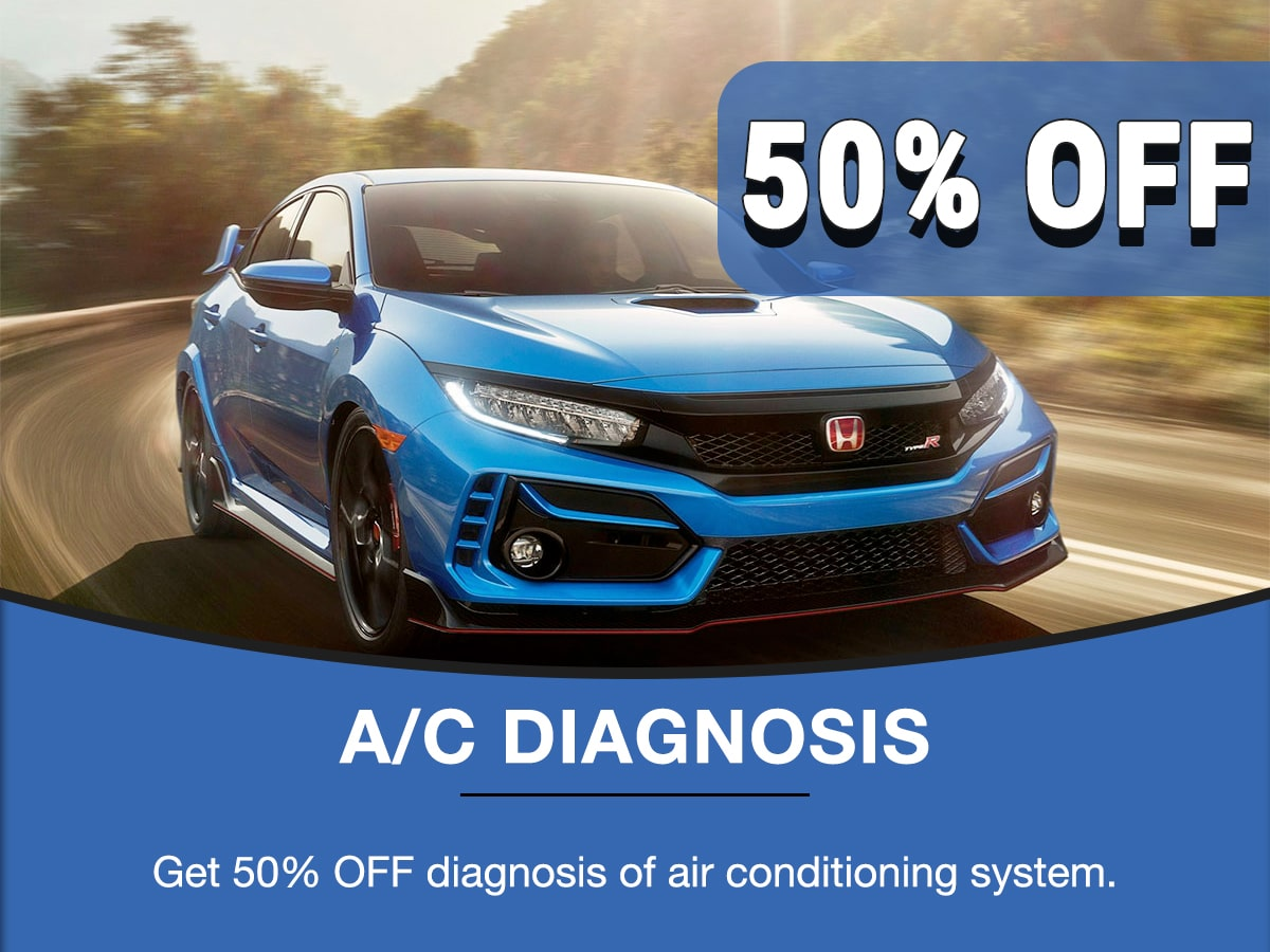 Rapids Honda A/C Diagnosis Service Special Coupon