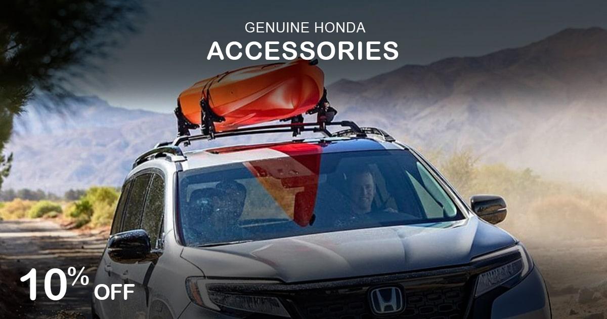 Rapids Honda Accessories Special Coupon