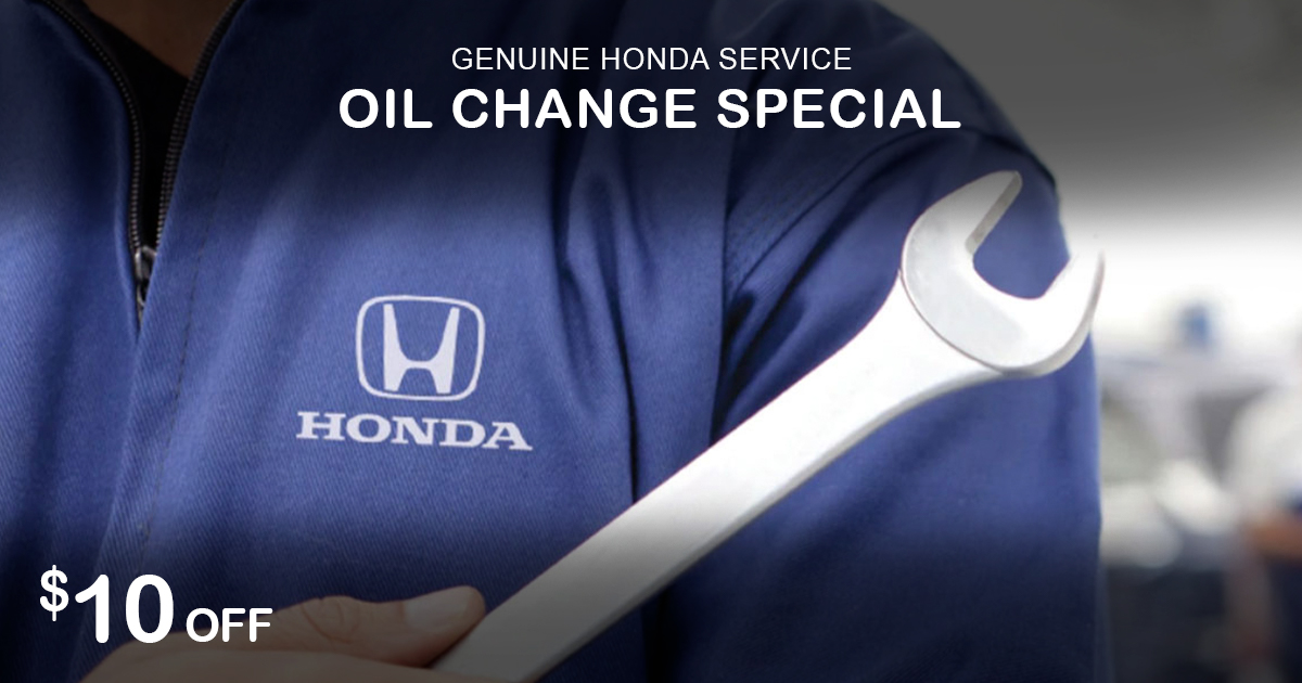 Rapids Honda Synthethetic Blend Oil Change Special Coupon