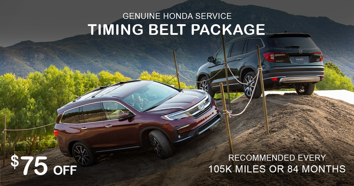 Rapids Honda Timing Belt Package Special Coupon