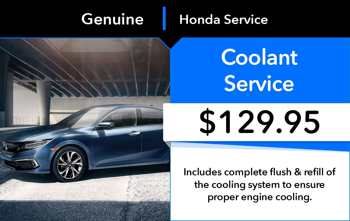 Honda Coolant Service Special Coupon