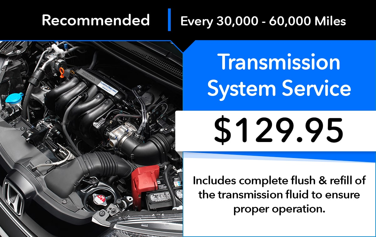 Honda Transmission Service Special Coupon