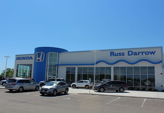 Russ Darrow Honda Amenities Lounge