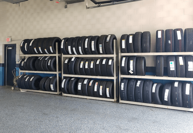 Russ Darrow Honda Amenities Tires