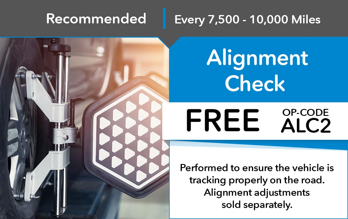 Honda Alignment Check Service Special Coupon