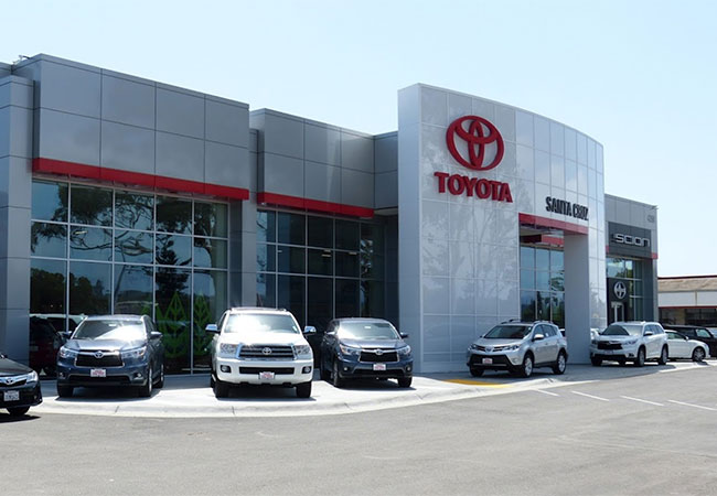 Santa Cruz Toyota Dealership