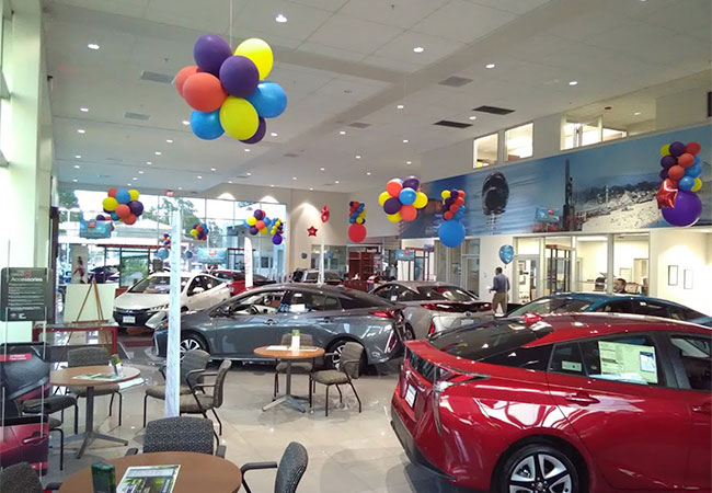Santa Cruz Toyota Showroom