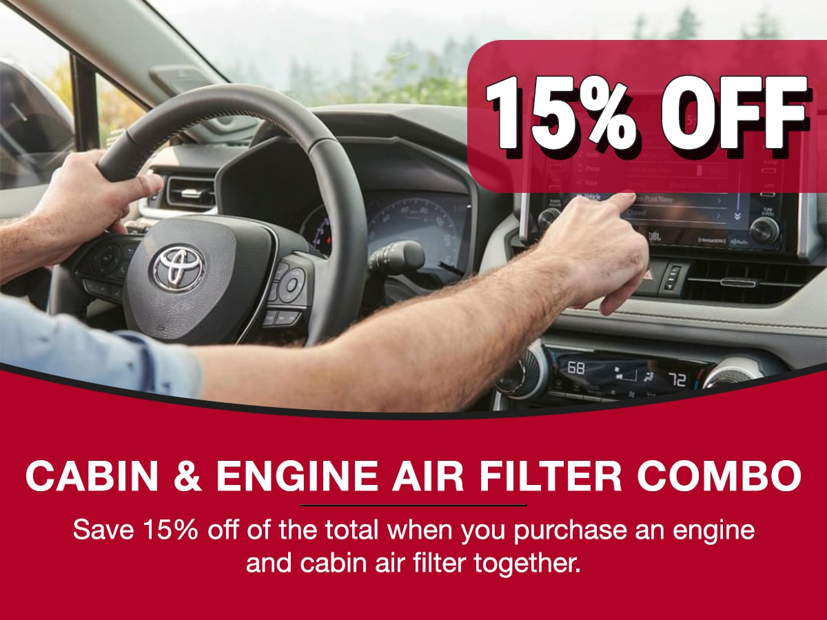 Cabin & Engine Air Filter Combo Service Special Coupon