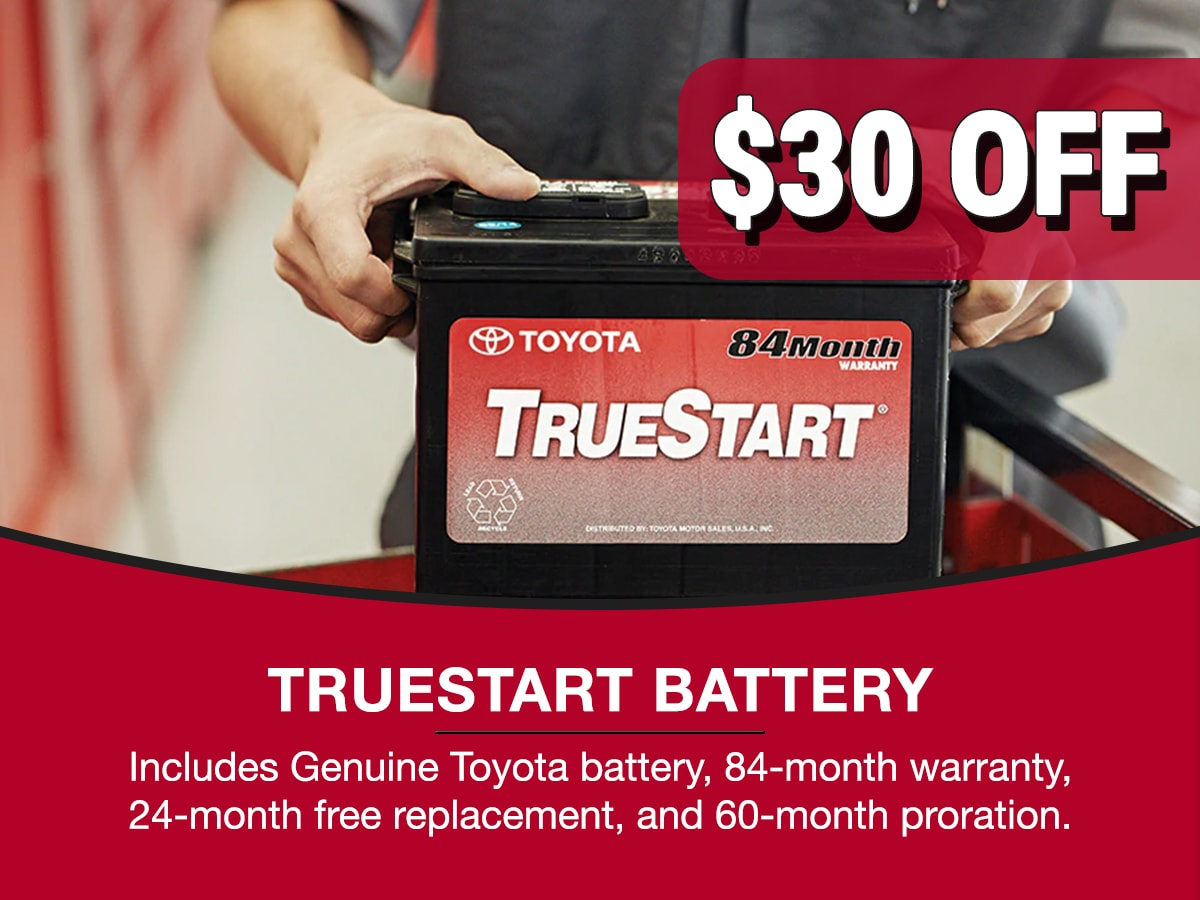 TrueStart Battery Service Special Coupon