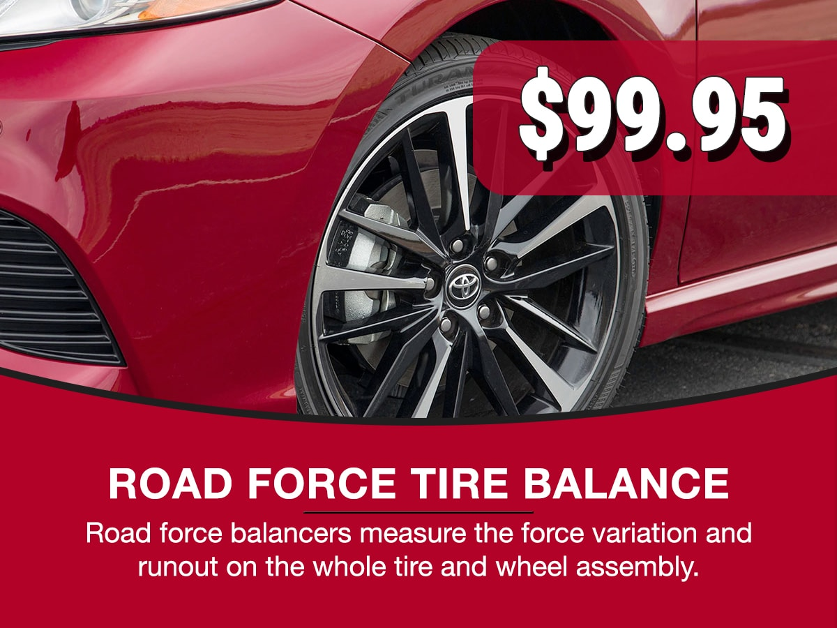 Road Force Tire Balance Service Special Coupon