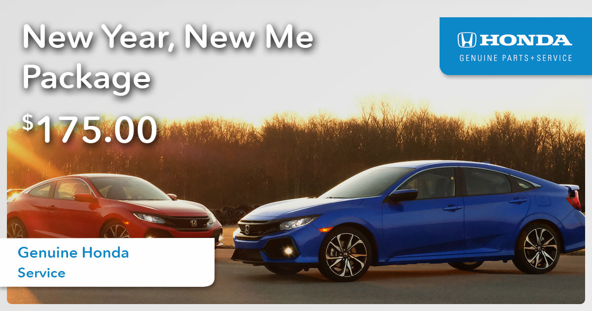 Honda New Year Service Special Coupon