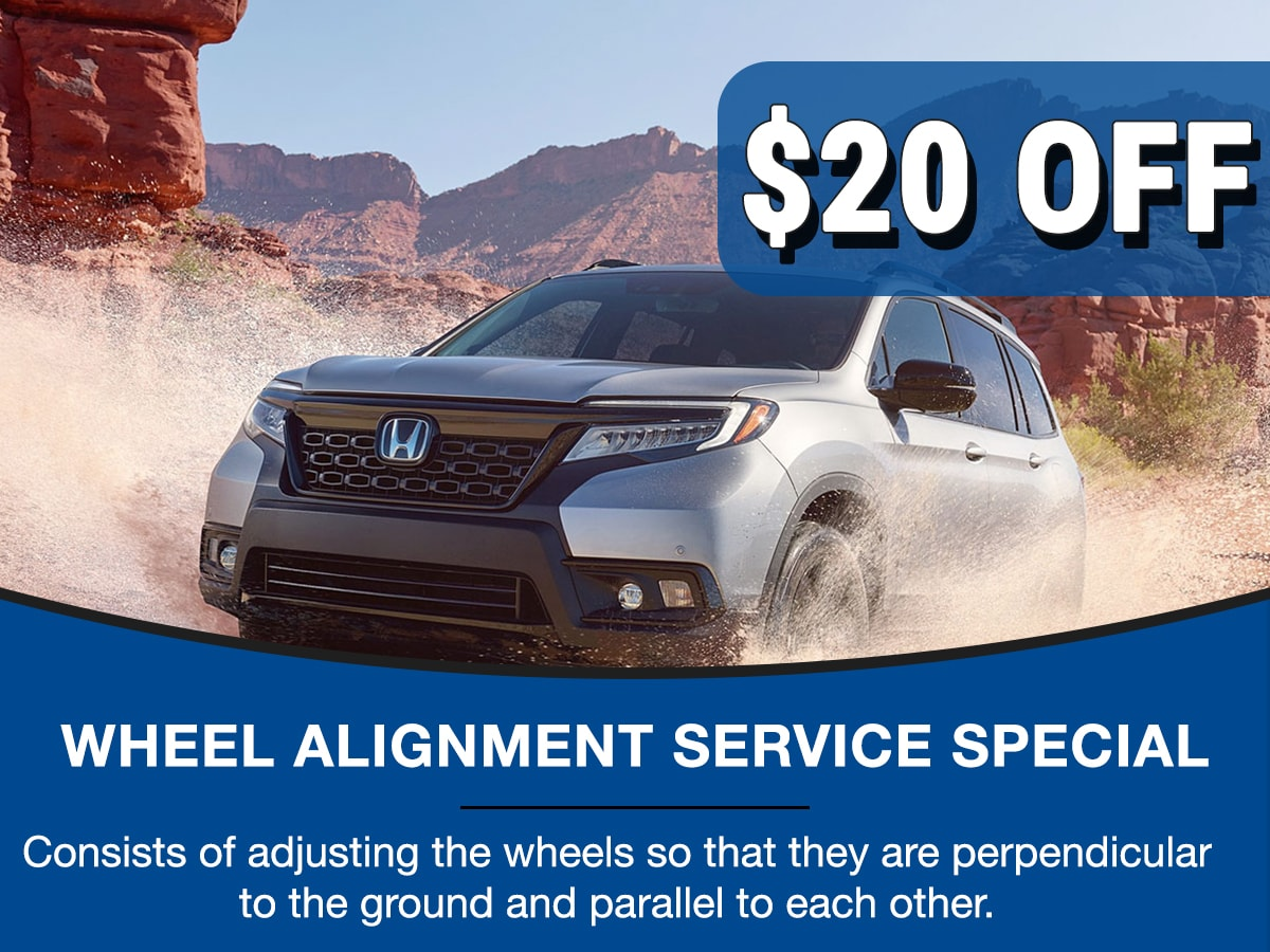 Surprise Honda Alignment Service Special Coupon