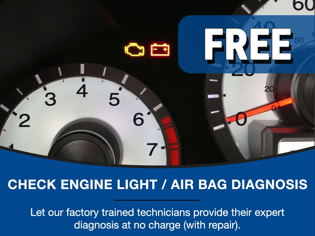 Surprise Honda Check Engine Light Service Special Coupon