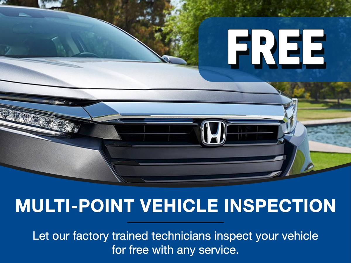 Surprise Honda Multi-Point Inspection Service Special Coupon