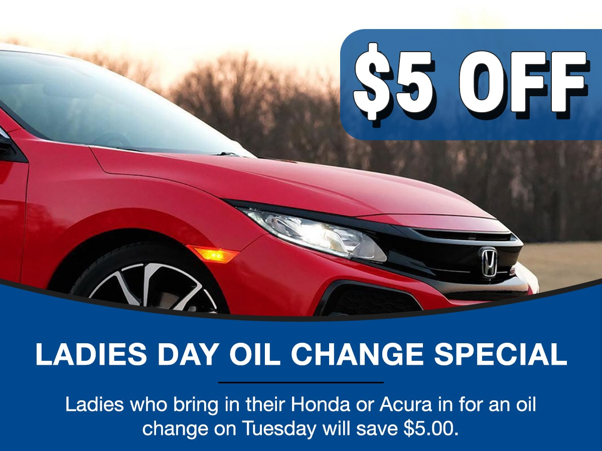 Surprise Honda Ladies Day Service Special Coupon