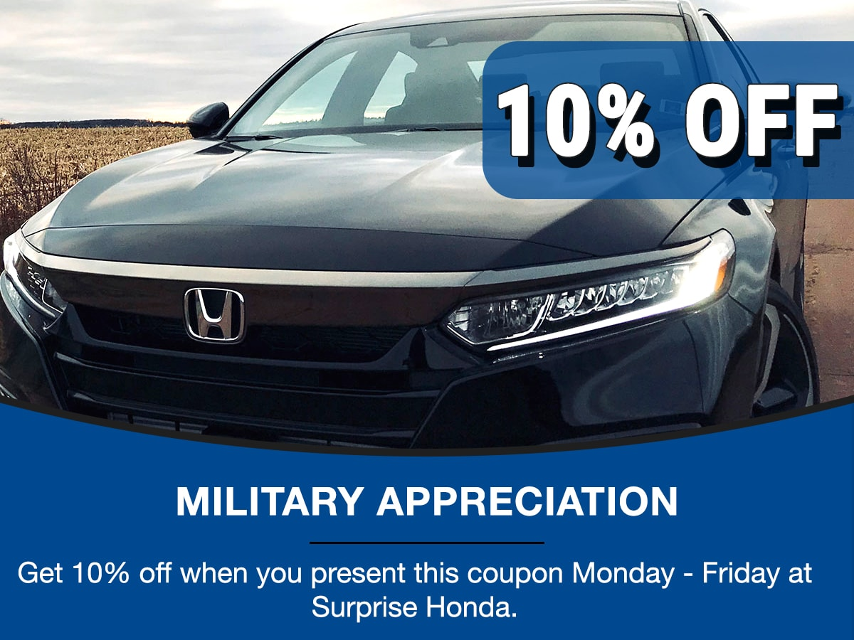 Military Appreciation Service Special Coupon