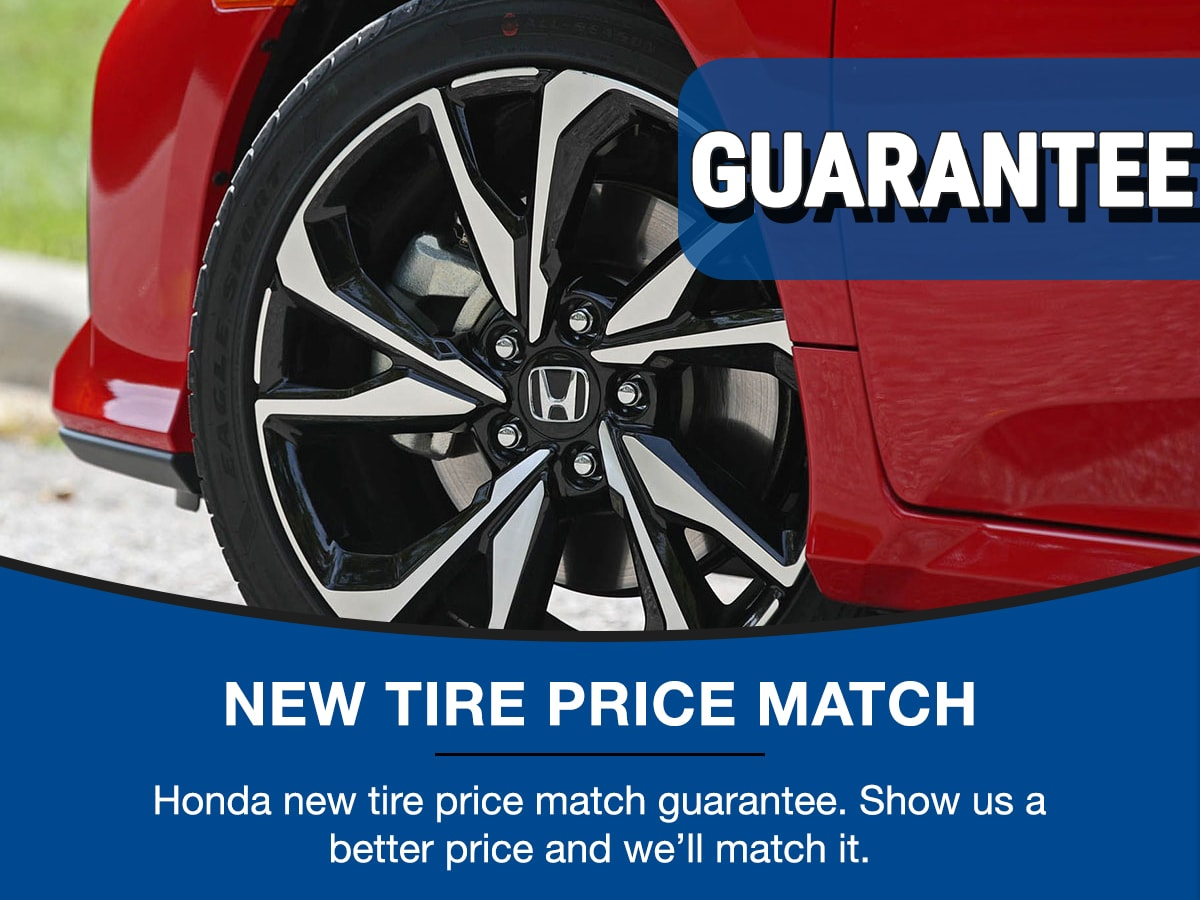 Surprise Honda Tire Service Special Coupon