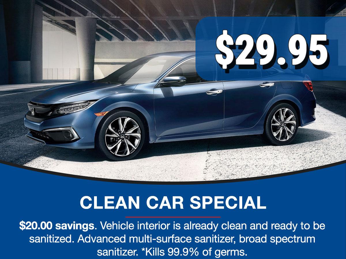 CDJR Clean Car Service Special Coupon
