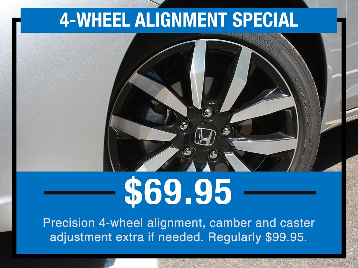 4-Wheel Alignment Service Specials Coupon