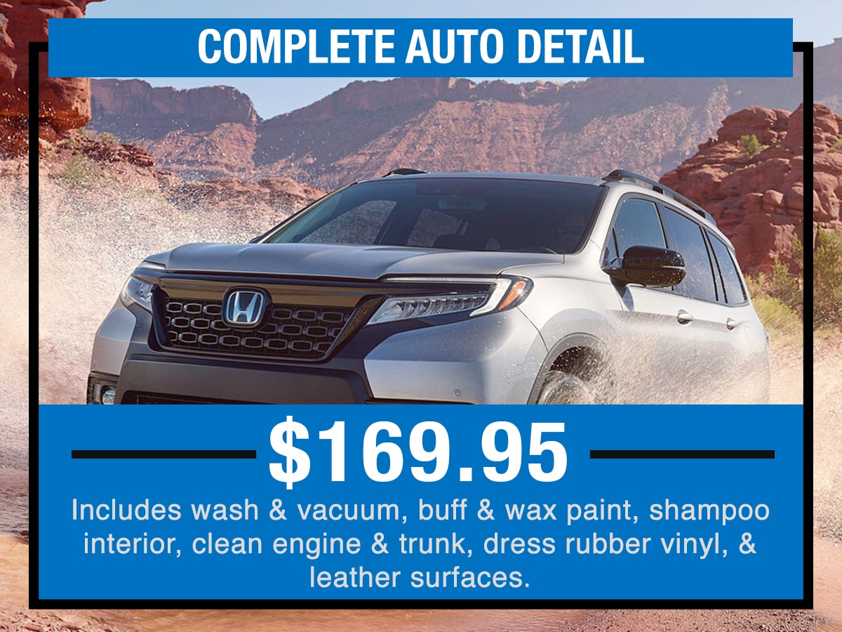 Complete Auto Detail Service Specials Coupon