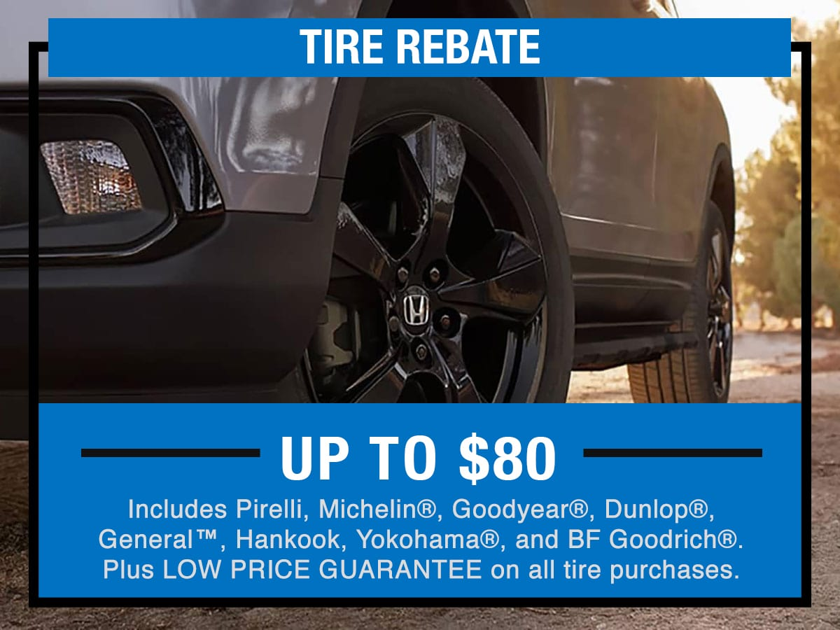 Tire Rebate Service Specials Coupon