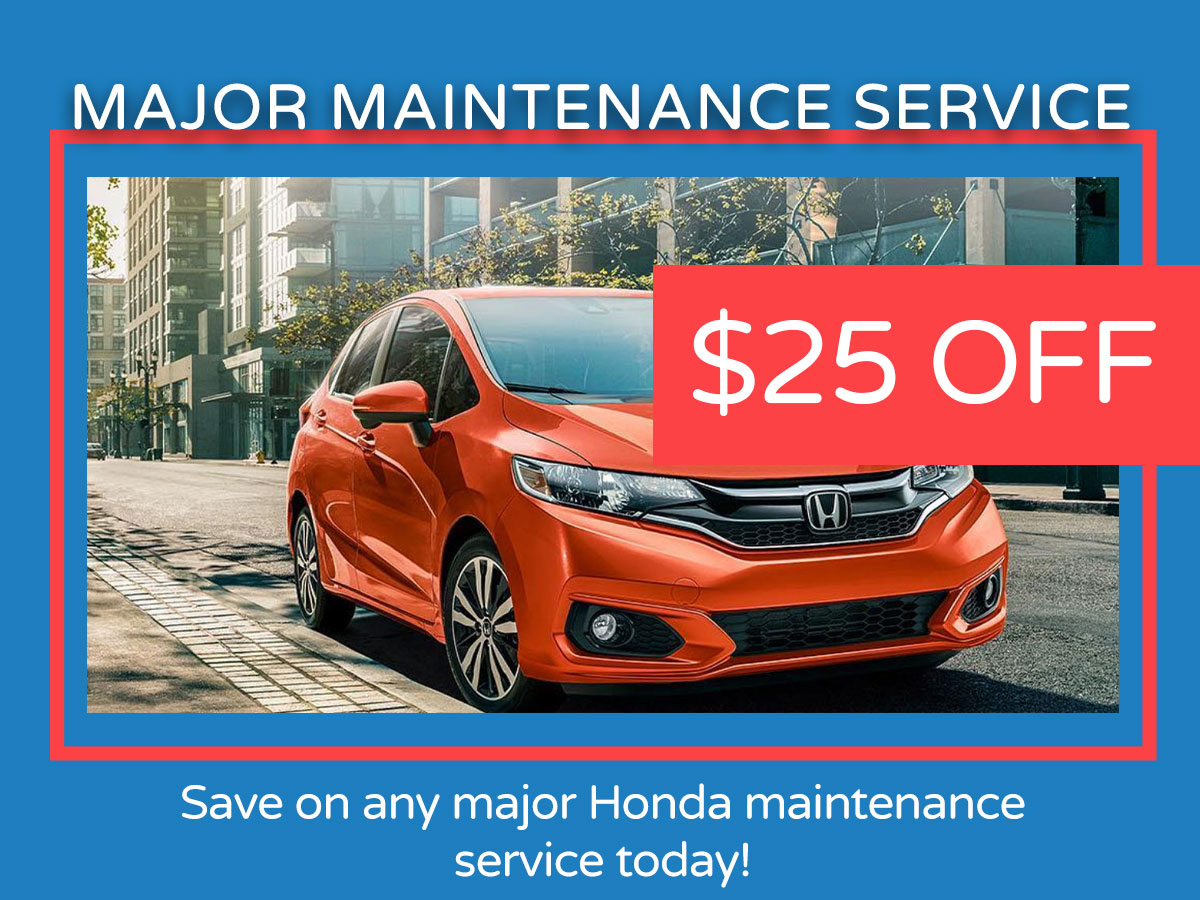 Major Maintenance Service Coupon