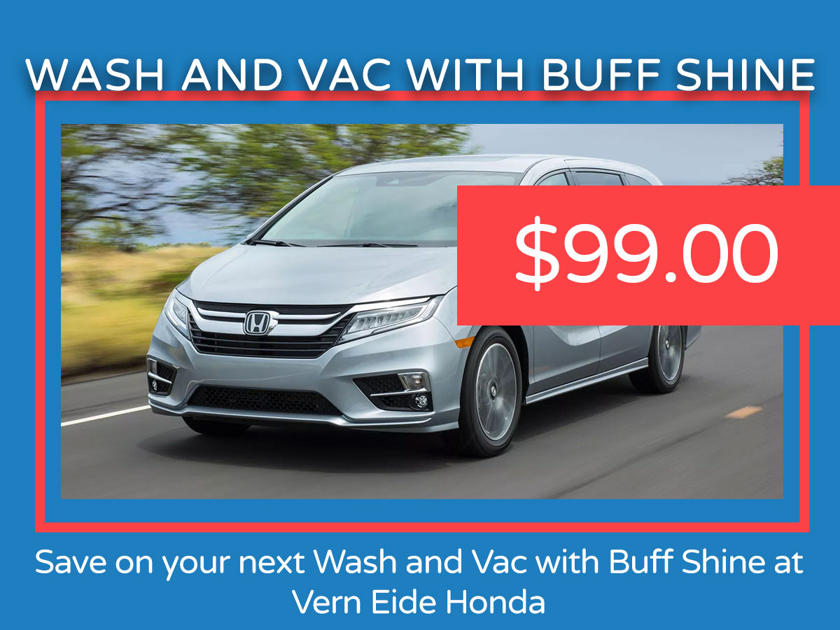 Wash and Vac with Buff Shine Service Coupon