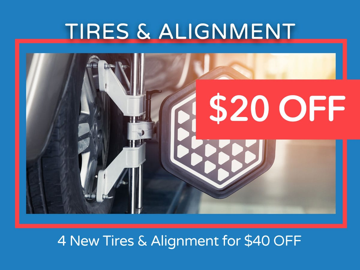 Honda Tires & Alignment Service Coupon