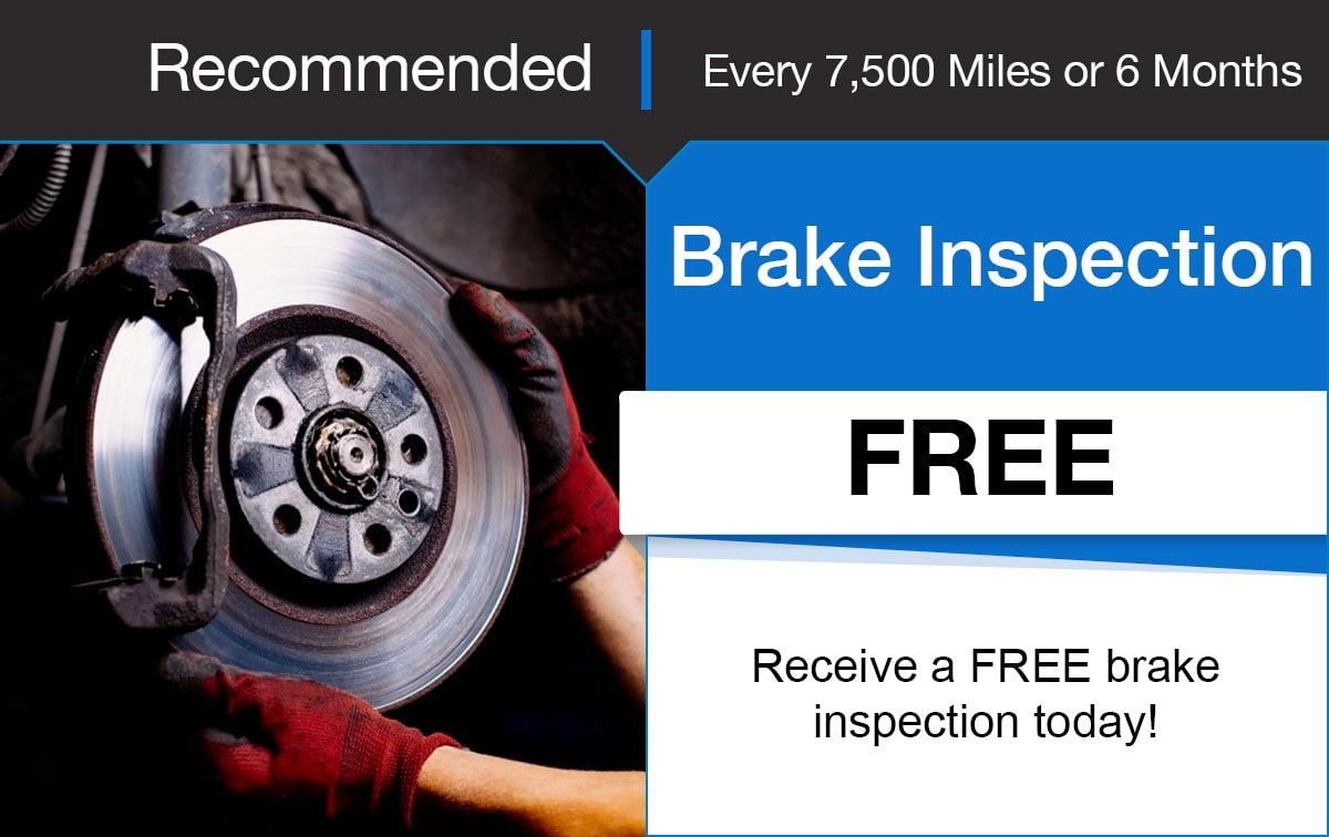 Hyundai Brake Inspection Service Special Coupon