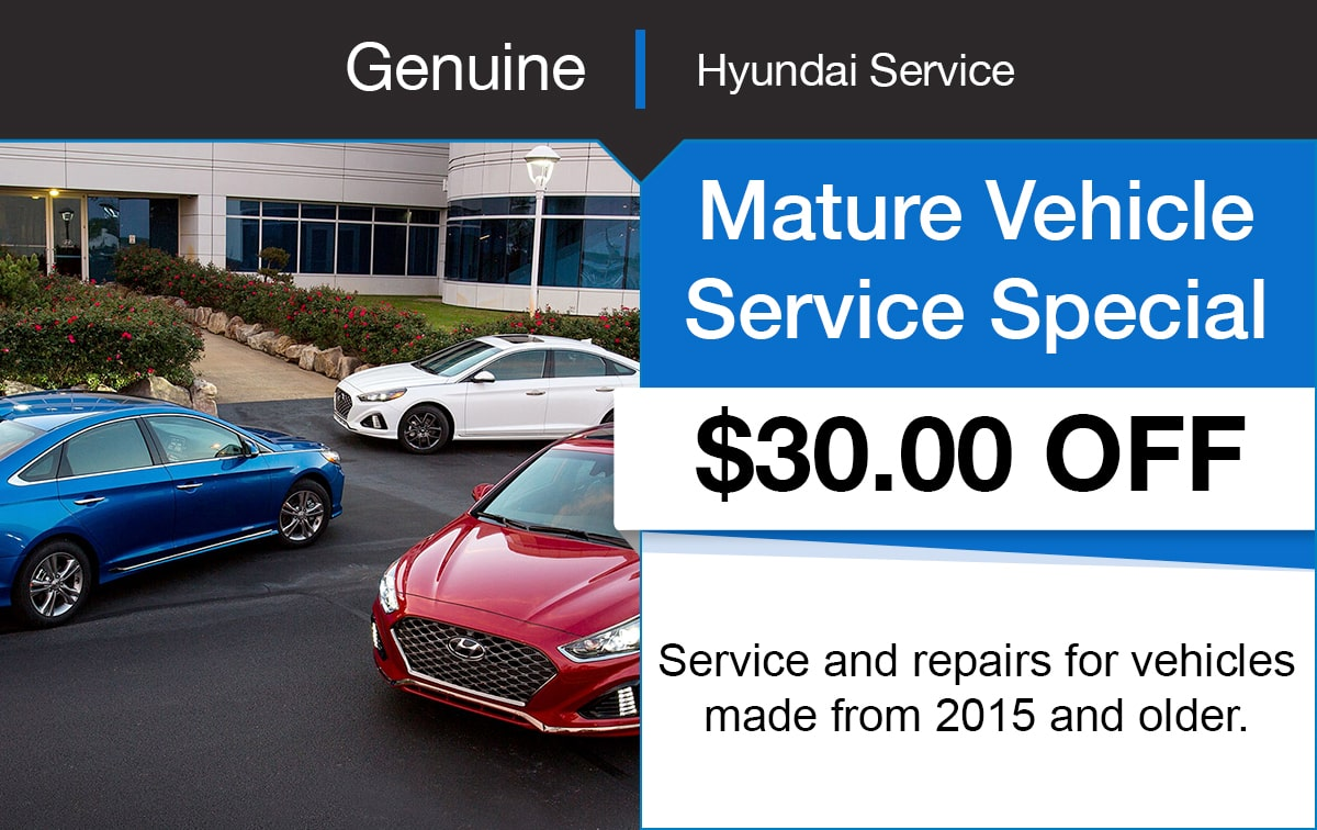 Hyundai Mature Service Special Coupon
