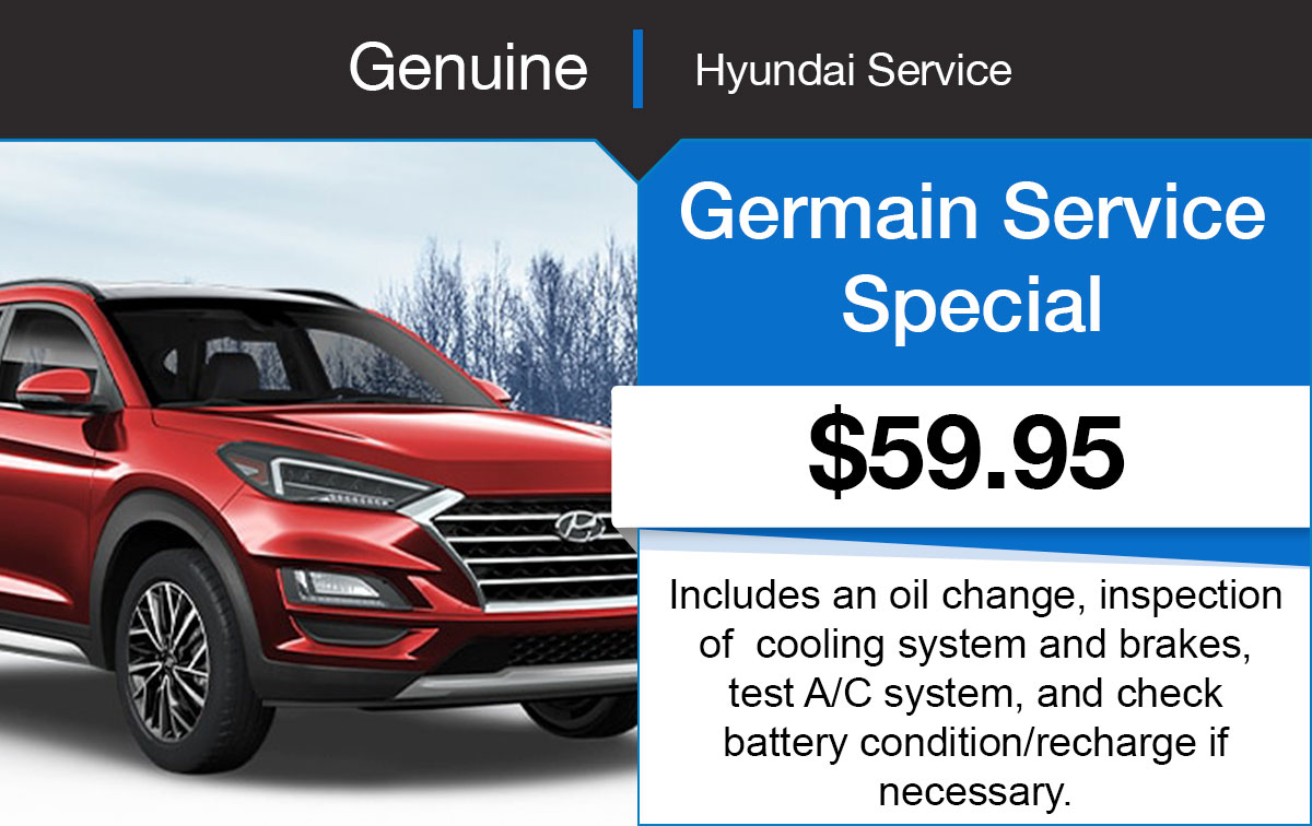 Hyundai Germain Service Special Coupon