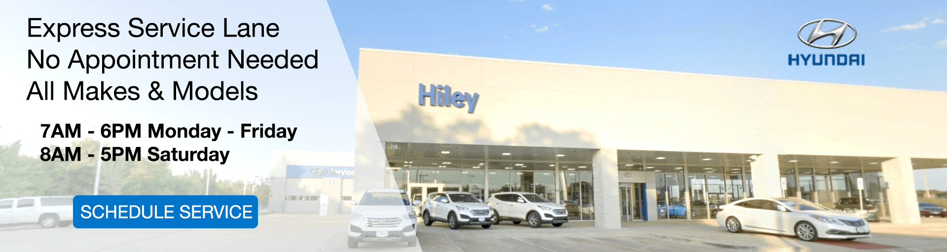 Service & Parts Special Coupons Hiley Hyundai of Burleson