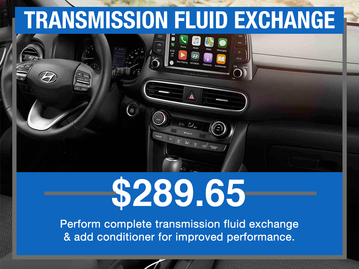 CTransmission Fluid Exchange Service Special Coupon