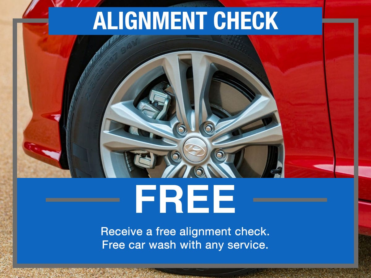 Alignment Check Service Special Coupon