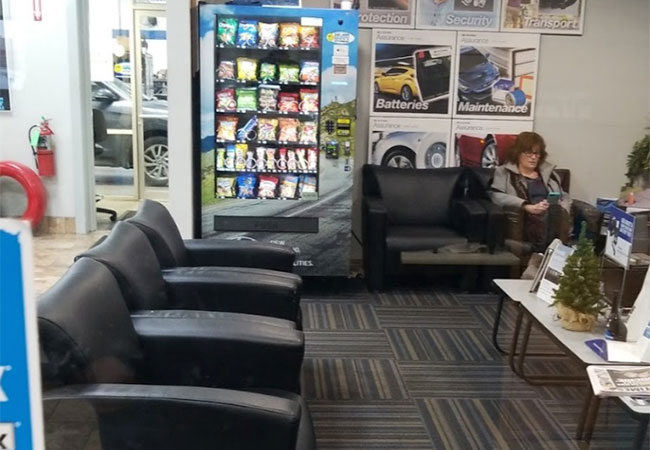 Happy Hyundai Waiting Area