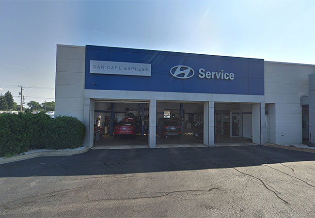 Happy Hyundai Service Department