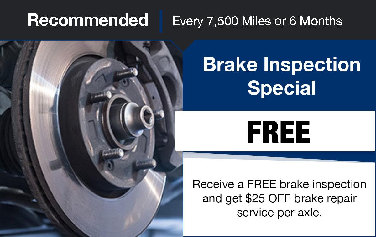 Hyundai Brake inspection Service Special Coupon