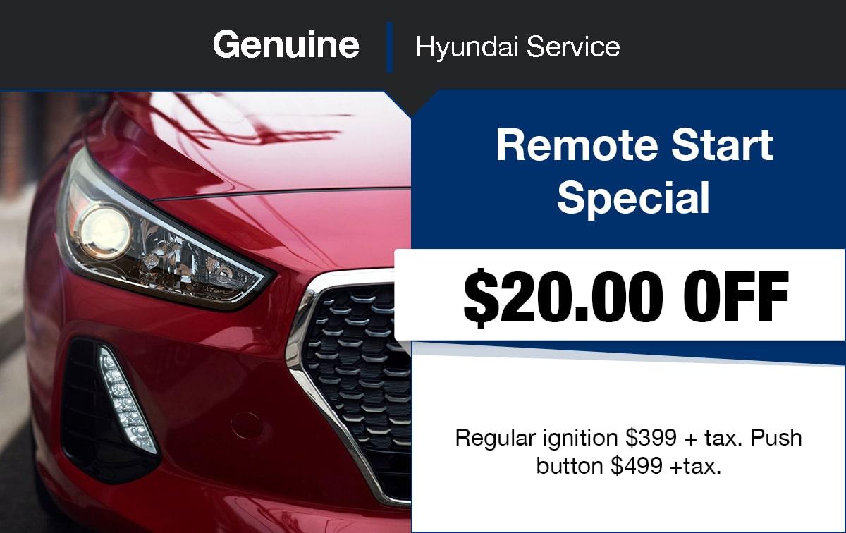 Hyundai Remote Start Special Coupon